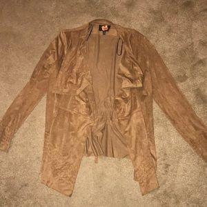 Suede tan jacket